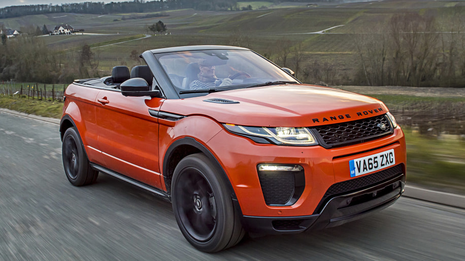 2017 land rover range rover evoque convertible first. Black Bedroom Furniture Sets. Home Design Ideas