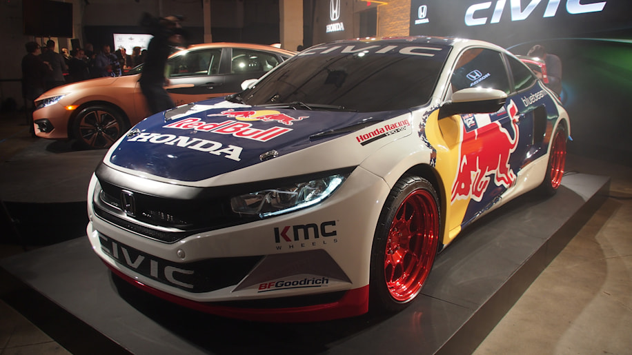 Grc Civic >> Honda Civic Coupe to join 2016 Red Bull Global Rallycross season - Autoblog