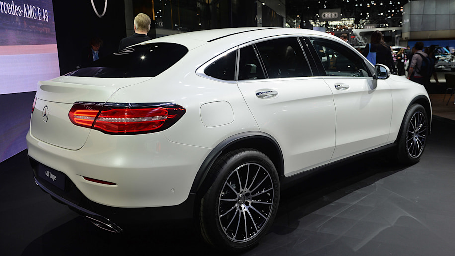 2017 Mercedes Benz Glc Class Coupe Is A Stylish Take On A