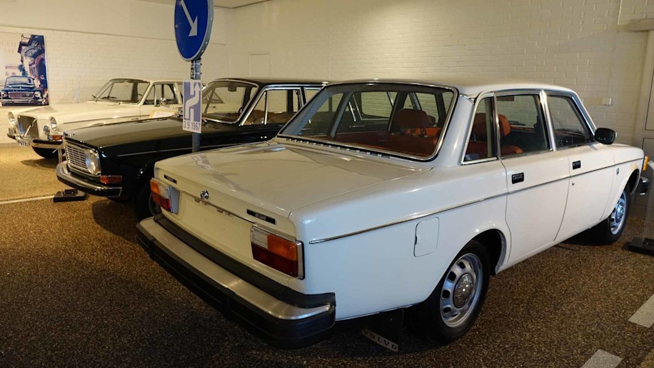 1960s Volvo 144 and 164