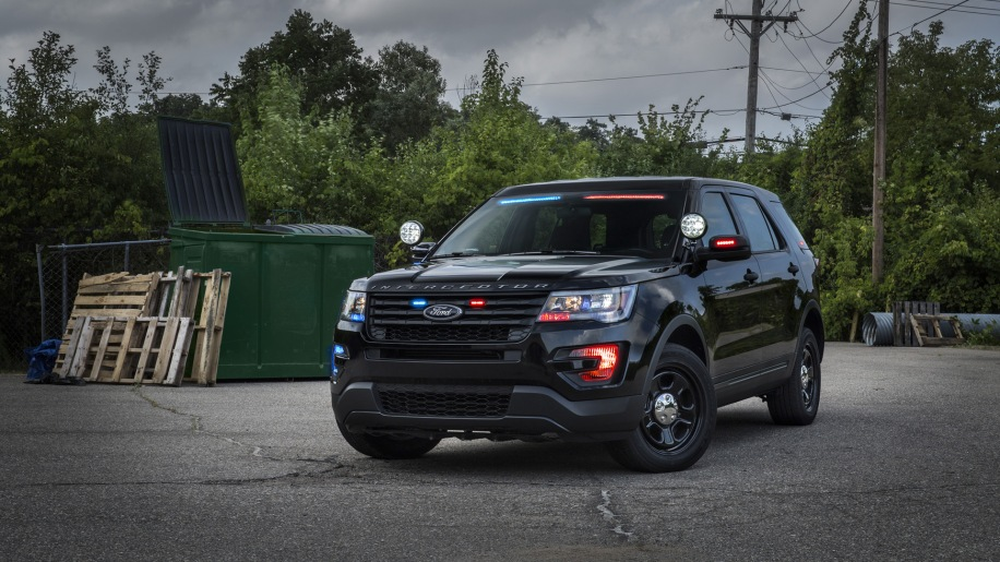 Ford Police Interceptor Utility Becomes Even More Inconspicuous