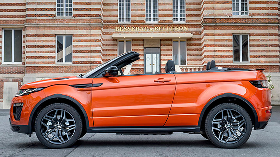 The Oddball: 2017 Land Rover Range Rover Evoque Convertible