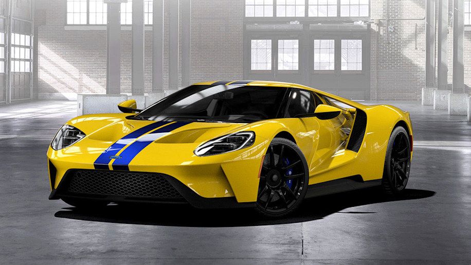 2017 Ford GT front three-quarter