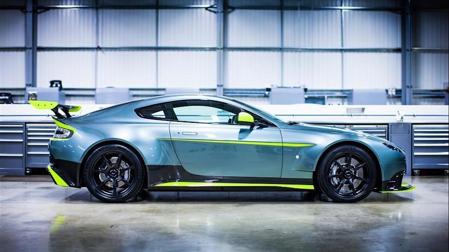 Aston Martin GT8 is lightest and most powerful V8 Vantage ever