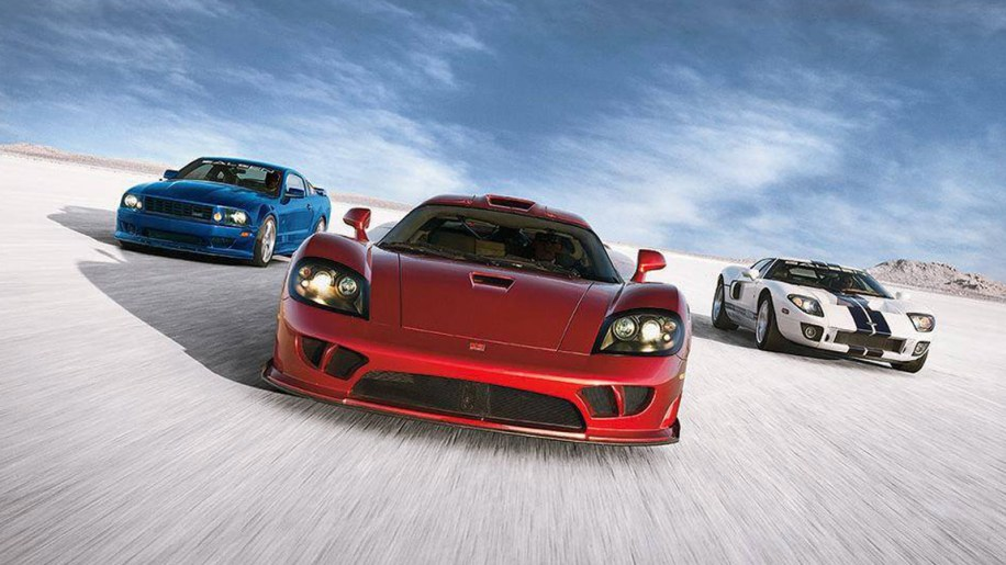 Ford Mustang, Saleen S7 and Ford GT