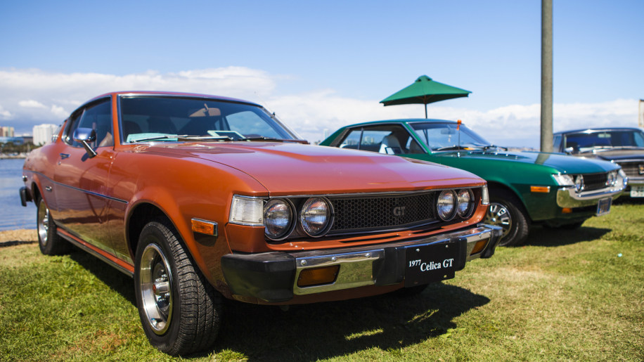 1977 toyota celica gt orange