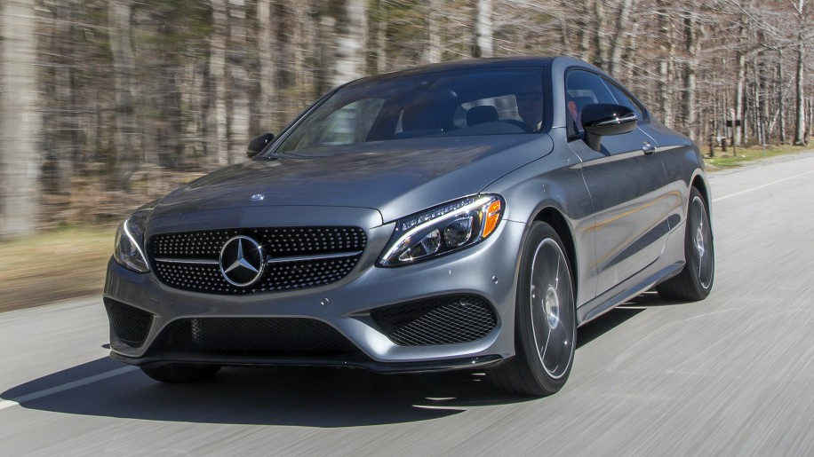 2017 Mercedes-Benz C300 Coupe driving