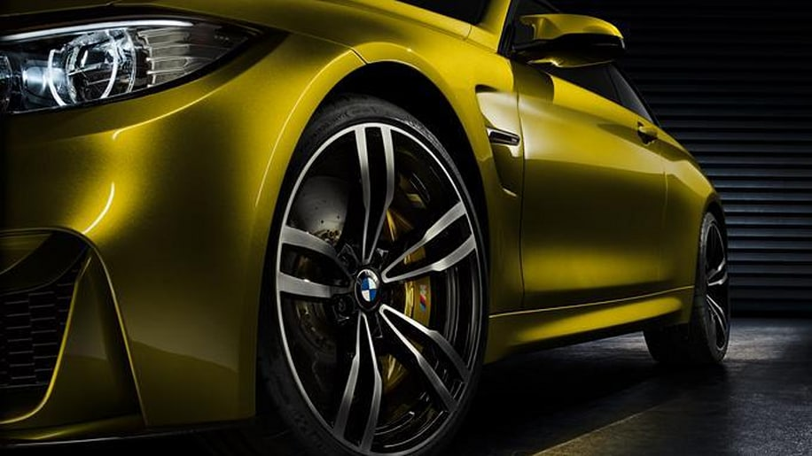 bmw m4 concept leaked ahead of monterey debut