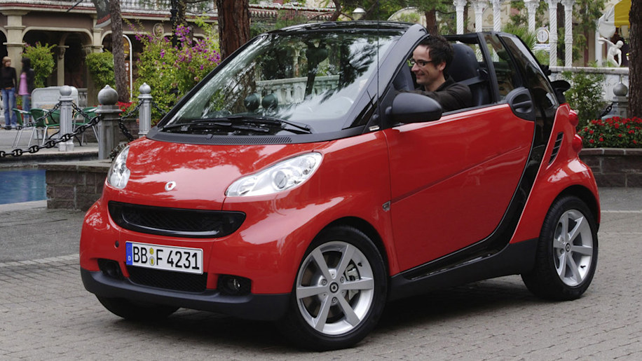 No. 1 Least Sexy - smart fortwo