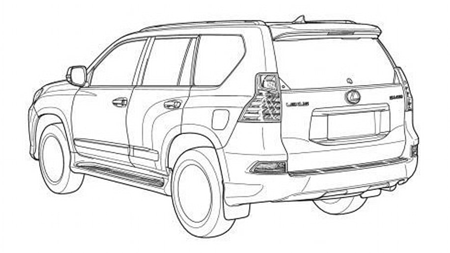 lexus gx  toyota land cruiser prado facelifts leaked