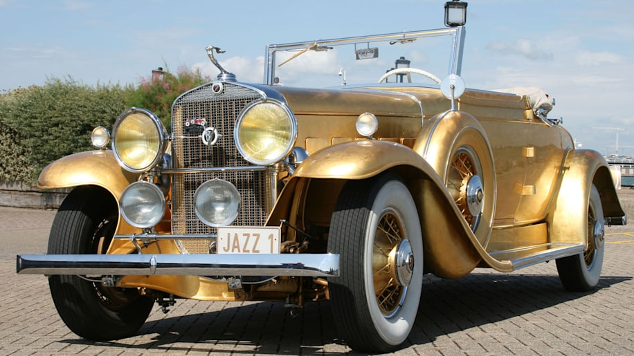 Liberace's gilded Cadillac could be yours
