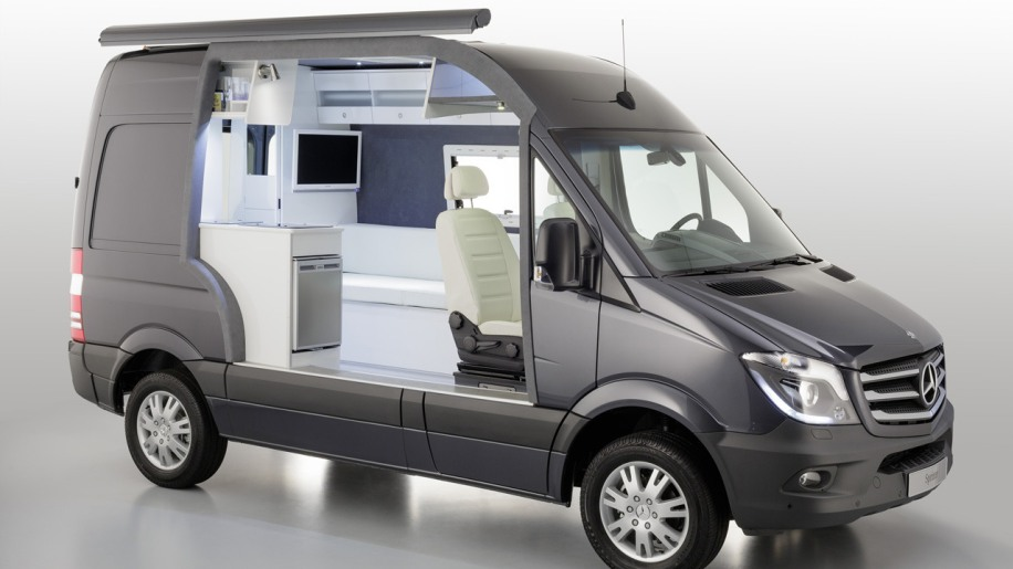 Mercedes Benz Classes Up Camper Market With Sprinter Caravan Concept