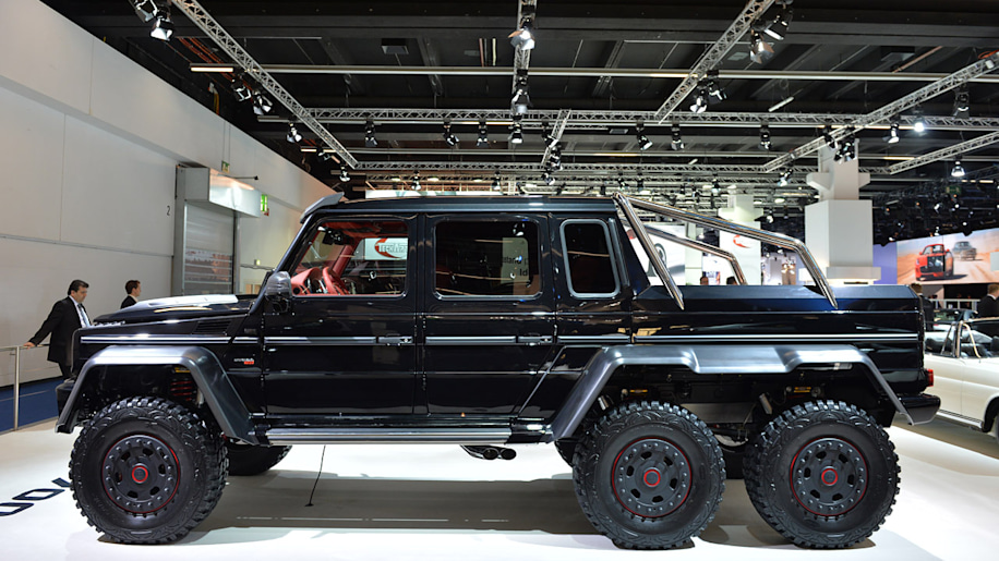 Brabus B63s 6x6 Sixes Up The Messe Autoblog