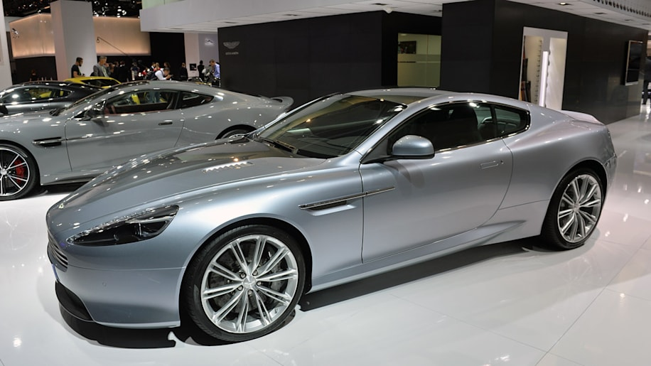 Aston Martin DB9 Centenary Edition burnishes an aging beauty
