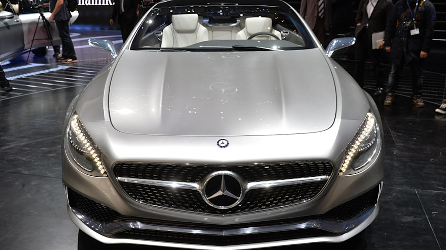 Mercedes concept s class coupe is two door indulgence w for 2013 mercedes benz s class coupe