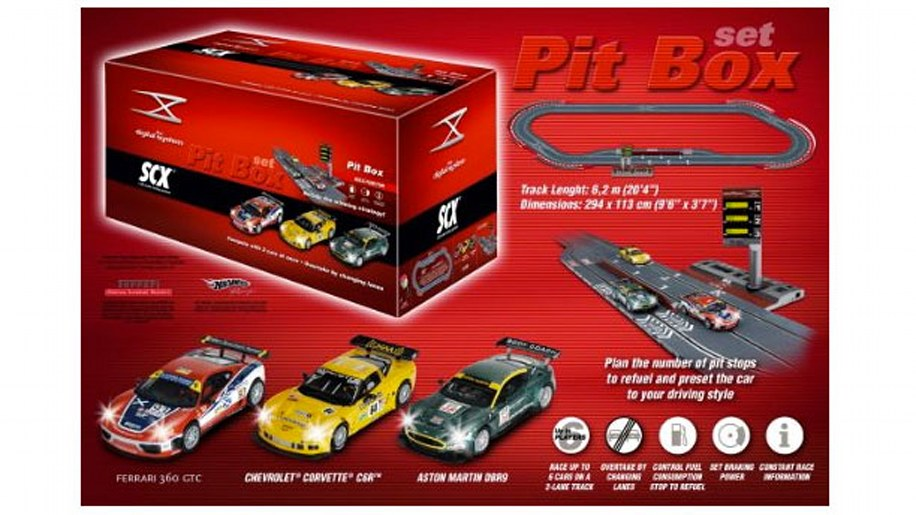 SCX Digital - GT Pit Box Set