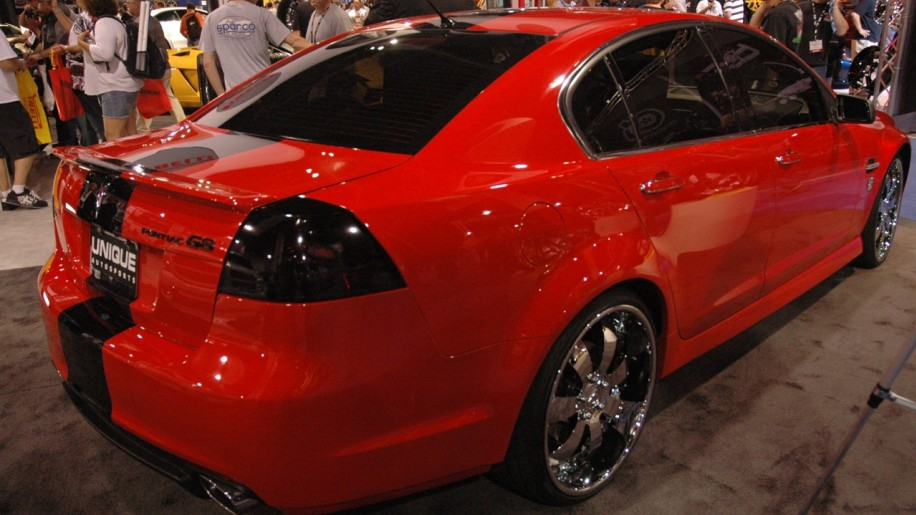 Pontiac G8 By 50 Cent And Unique Autosports Photo Gallery