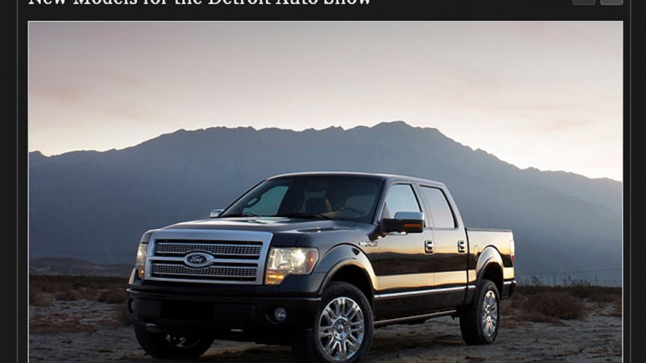 2009 Ford F150 Platinum