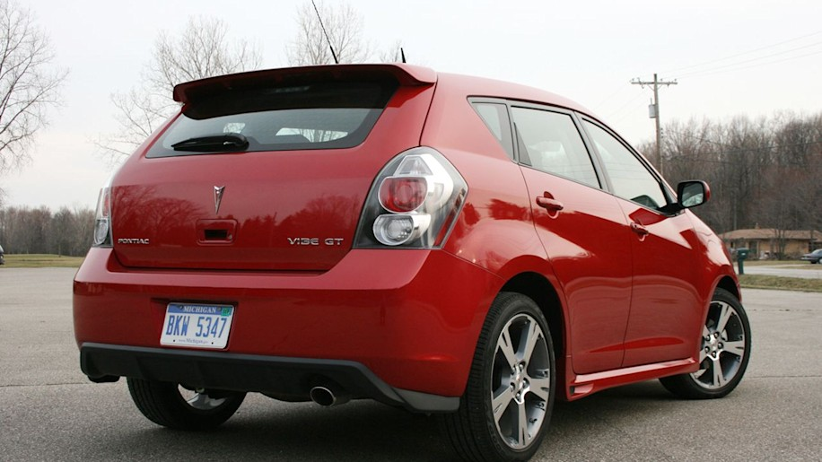 review 2009 pontiac vibe gt photo gallery autoblog. Black Bedroom Furniture Sets. Home Design Ideas