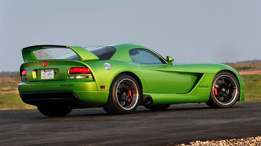 Snake Skin Green Hennessey Venom 1000tt Up For Sale Autoblog