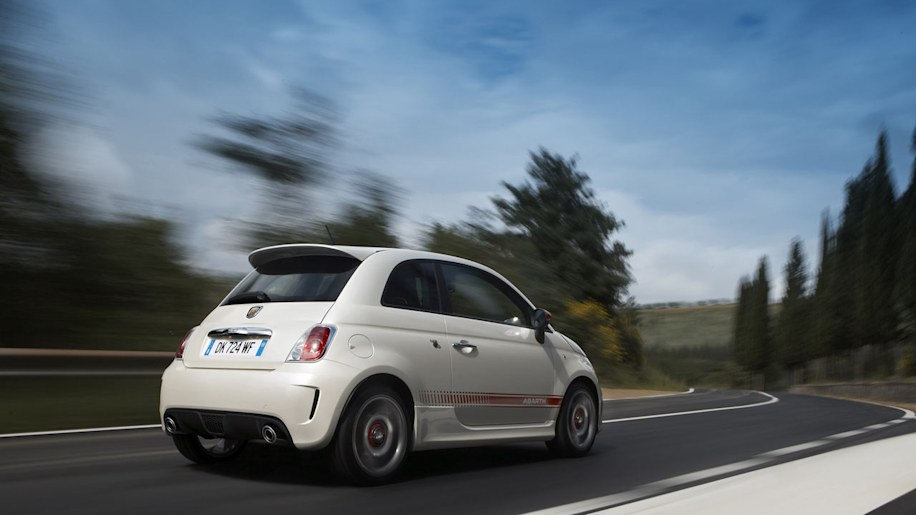 Abarth Opening on 2012 Fiat 500 Battery