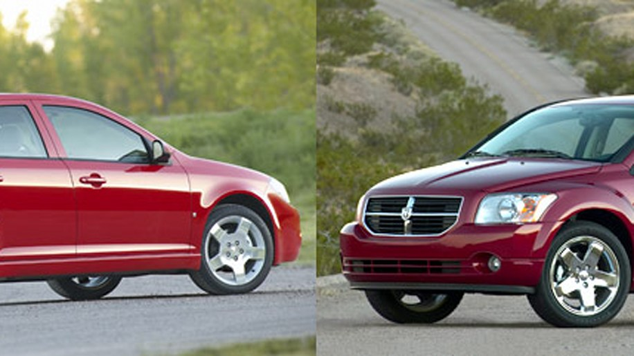 Chevy Cobalt vs. Dodge Caliber