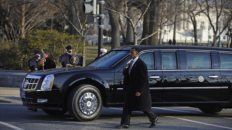 Meet the next president's new Beast, a giant bomb-proof limo - Autoblog