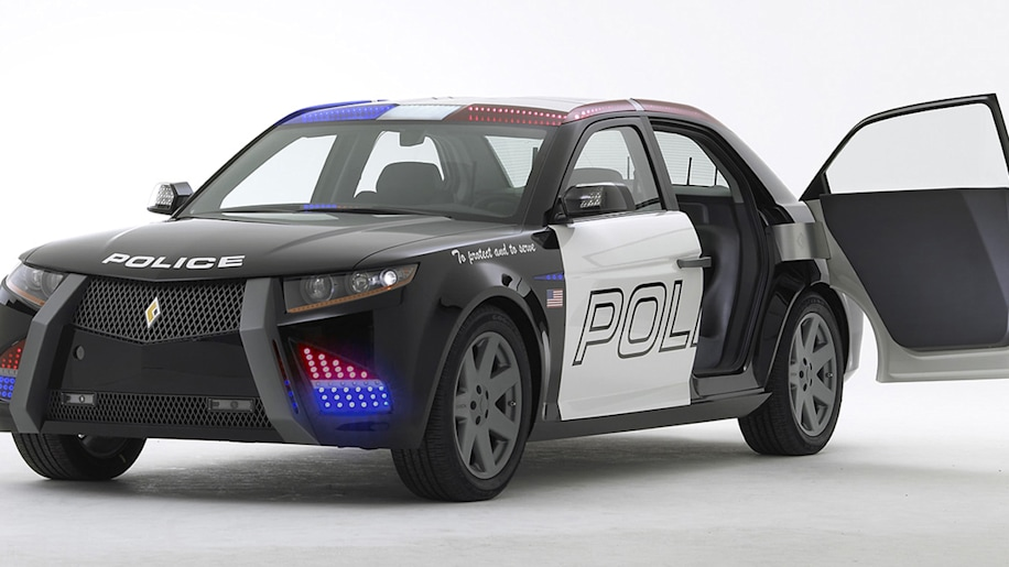Carbon Motors Releases First Video Of E7 Cop Car And In Car