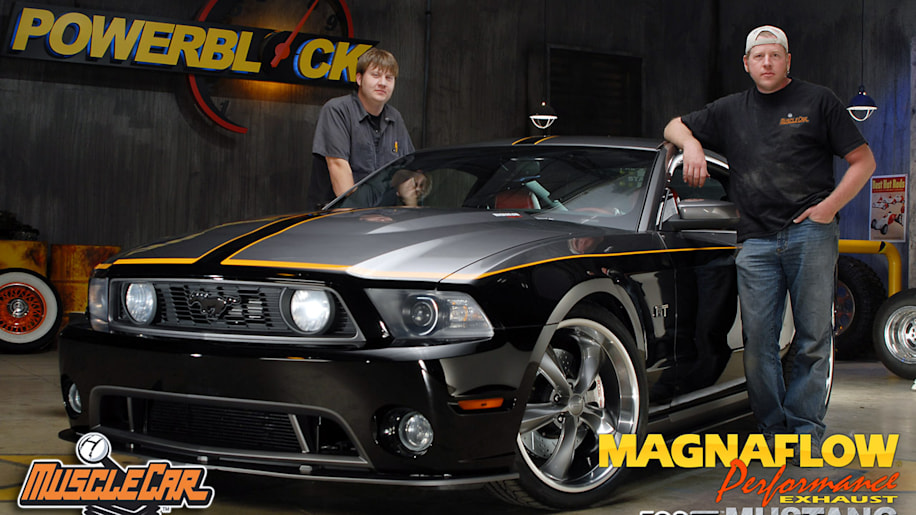 chip foose builds a custom 2010 ford mustang that you can. Black Bedroom Furniture Sets. Home Design Ideas
