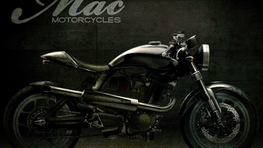 Fast Is Fast Pea Shooter Harleys: Mac Motorcycles Enters The Fray With Four Custom Bike