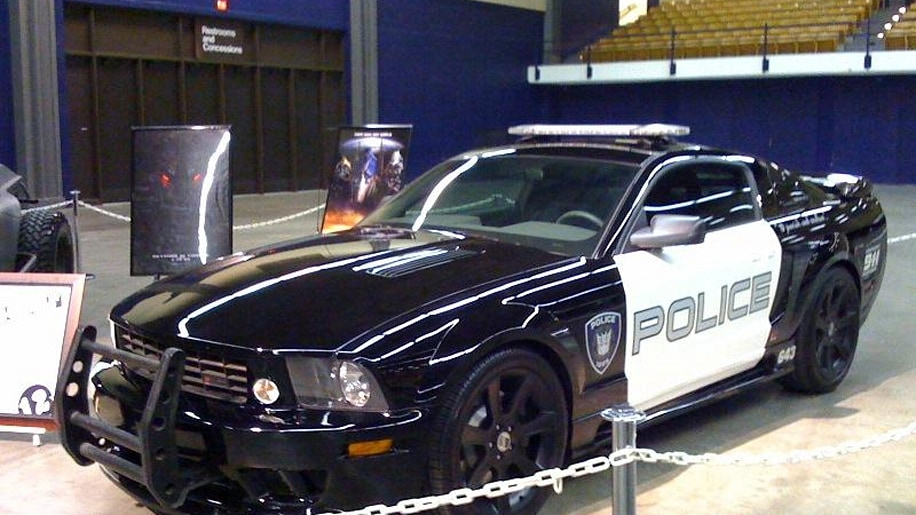 Transformers Quot Barricade Quot Saleen Mustang Sold At Auction
