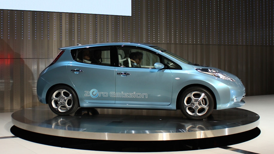 Nissan Leaf Electric Car In Person In Depth And U S