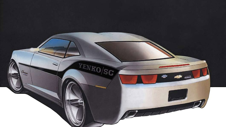 Officially Rendered 2010 Yenko Camaro Autoblog
