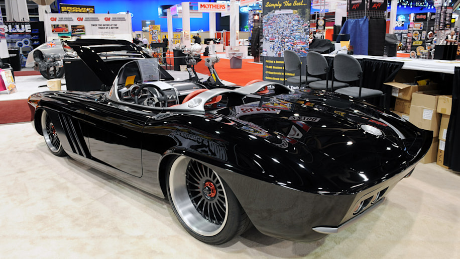 sema 2009 1962 corvette c1 rs is a worthy goodguys street machine of the year autoblog. Black Bedroom Furniture Sets. Home Design Ideas
