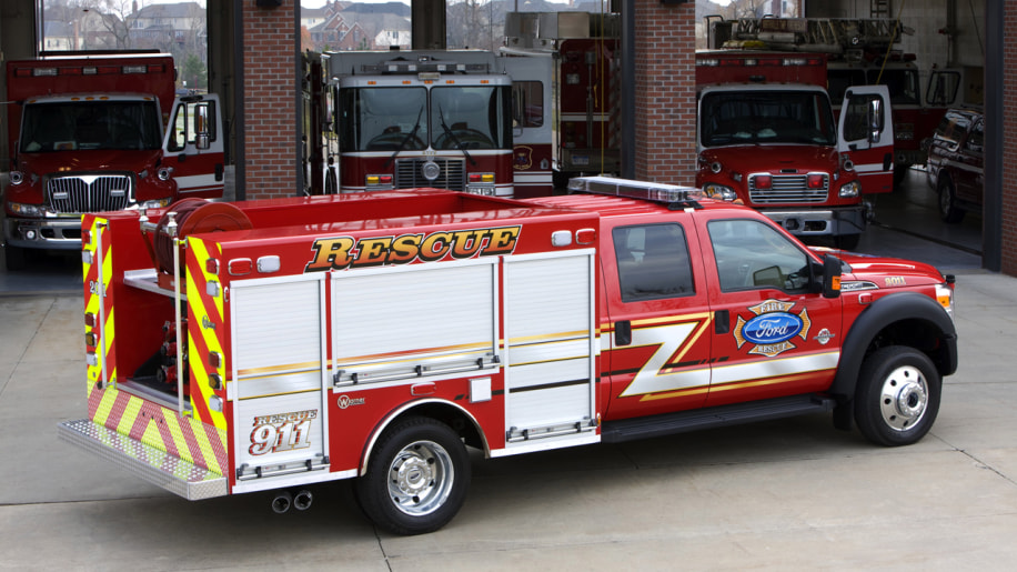 Ford Rescue Concept Truck Pressed Into Service To Help