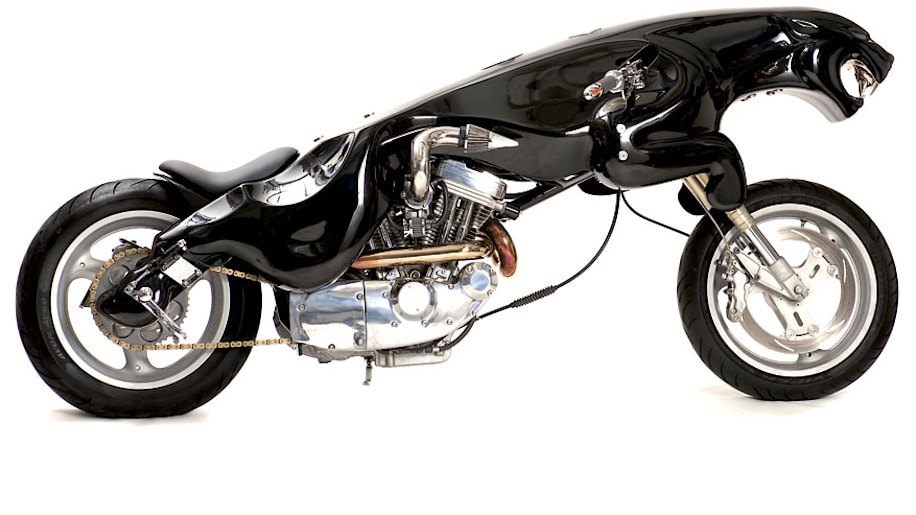 "Jaguar ""leaper"" motorcycle finally finished - Autoblog"