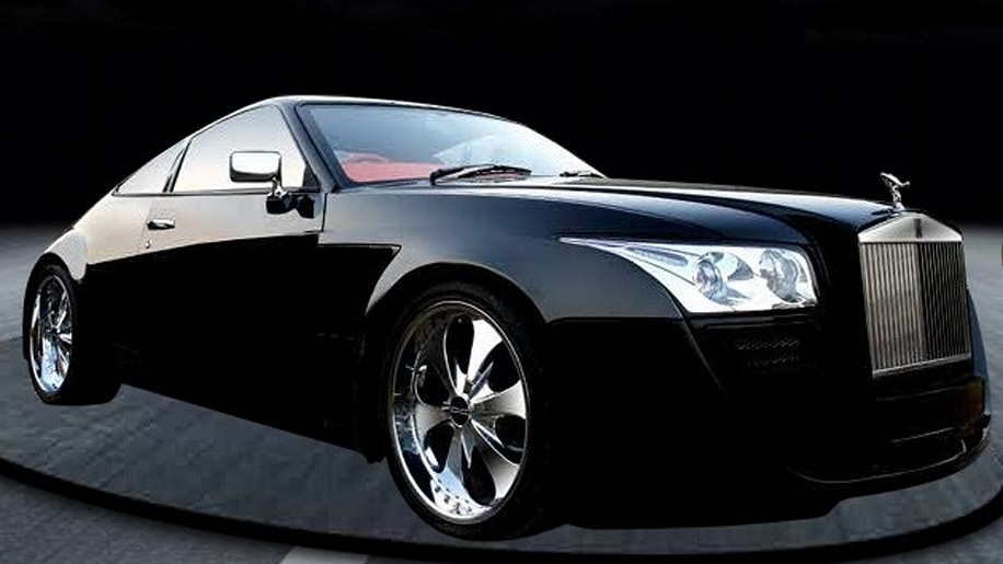 One Off Million Dollar Quot Black Ruby Quot Rolls Royce Coupe Up