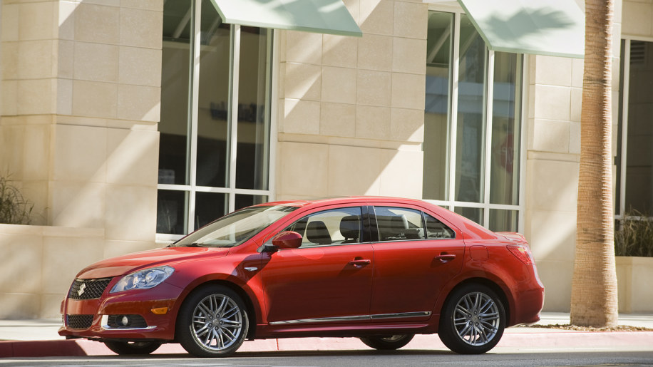 suzuki recalls nearly 61k sx4s and kizashis for shifting out of