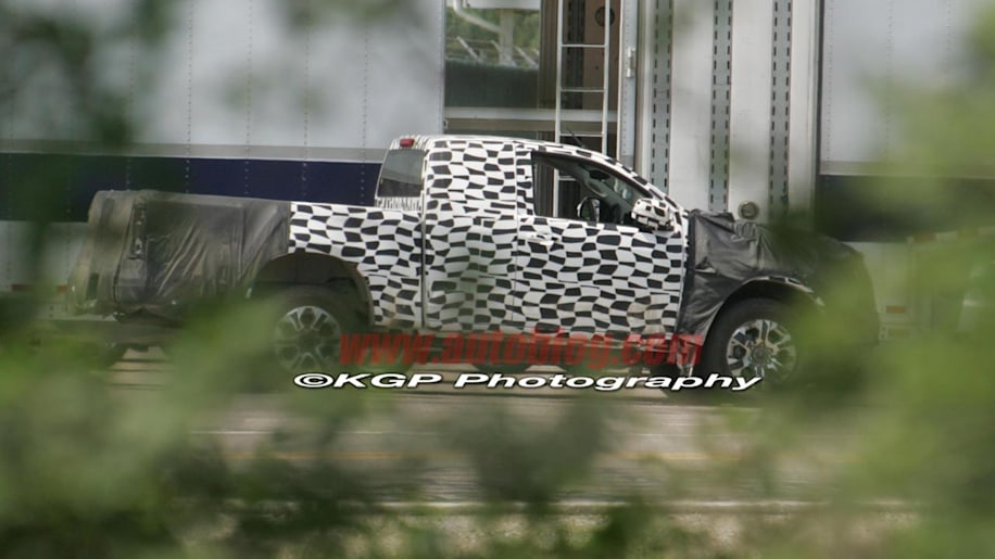 spy shots  next-gen ford ranger and chevy colorado replacements spotted in the u s
