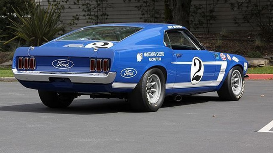 dan gurney 39 s 1969 ford mustang boss 302 trans am photo. Black Bedroom Furniture Sets. Home Design Ideas