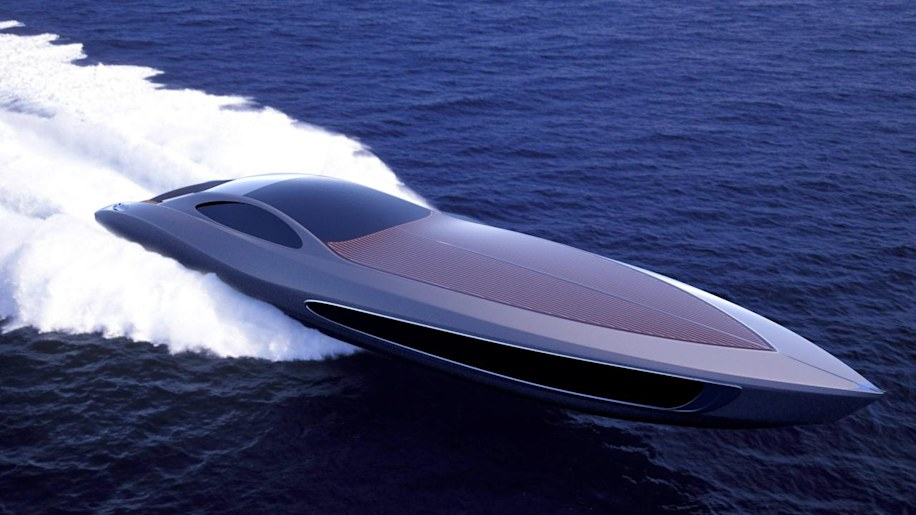 Strand Craft Super Yacht Comes With Supercar And In Boat