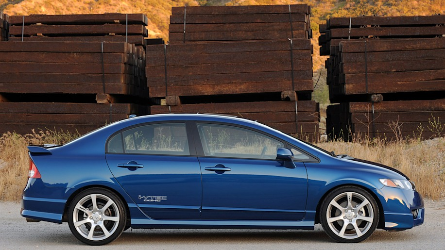 2010 Honda Civic Si 2dr Coupe Information