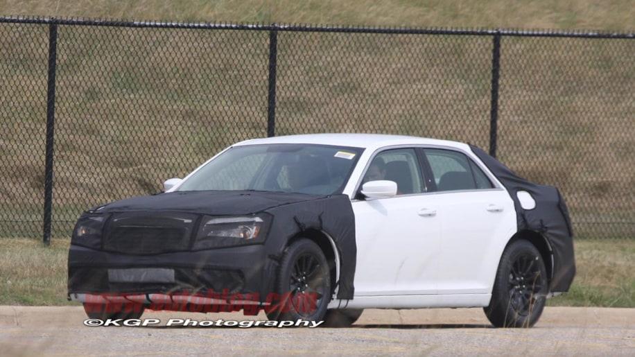 2012 Chrysler 300 Spy Shot