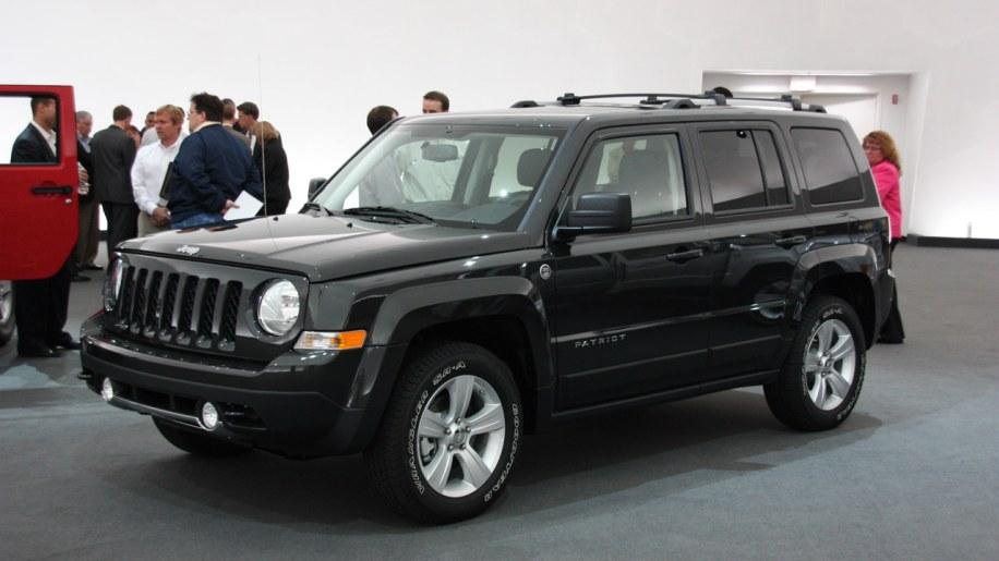 2011 Jeep Patriot Live Shots Photo Gallery Autoblog