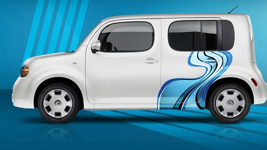 Nissan Graphics Custom Wraps - Nissan Cube