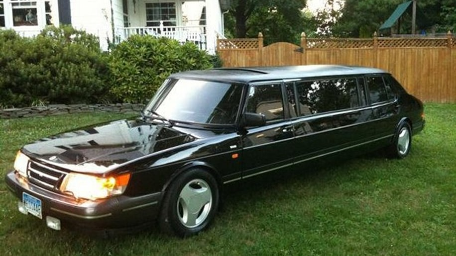 1985 Saab 900 Turbo Limousine front three-quarter