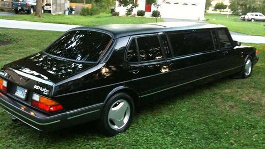 Camaro Limo For Sale >> Online Find of the Day: 1985 Saab 900 Turbo limousine is long on charm - Autoblog