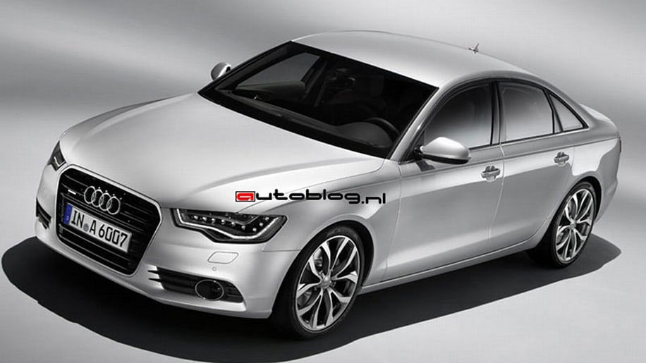 2012 Audi A6 leaked images