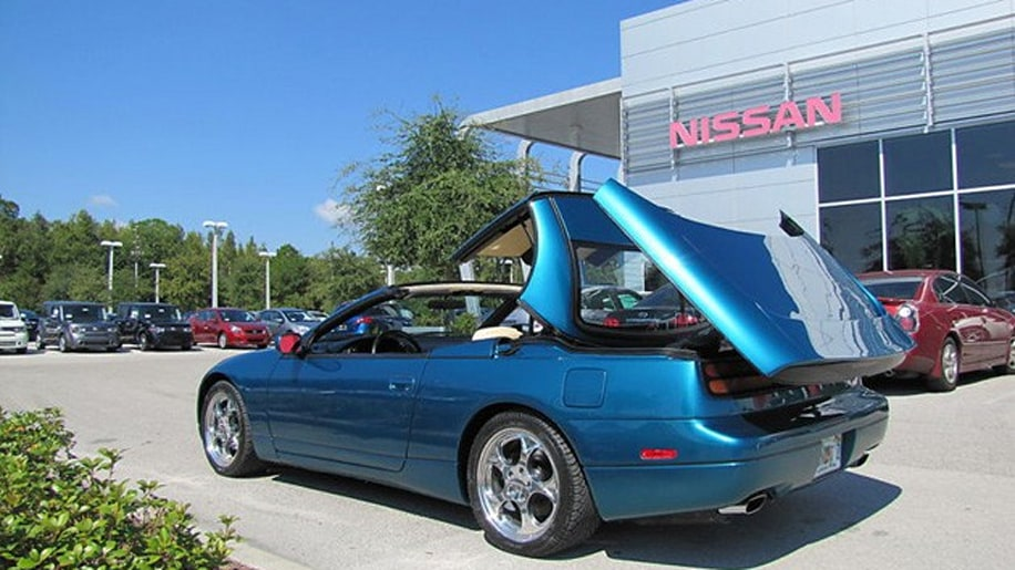 eBay Find of the Day: 1991 Nissan 300ZX hardtop convertible prototype