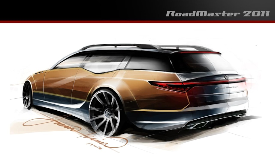 2011 buick roadmaster rendering from top gear usa photo. Black Bedroom Furniture Sets. Home Design Ideas